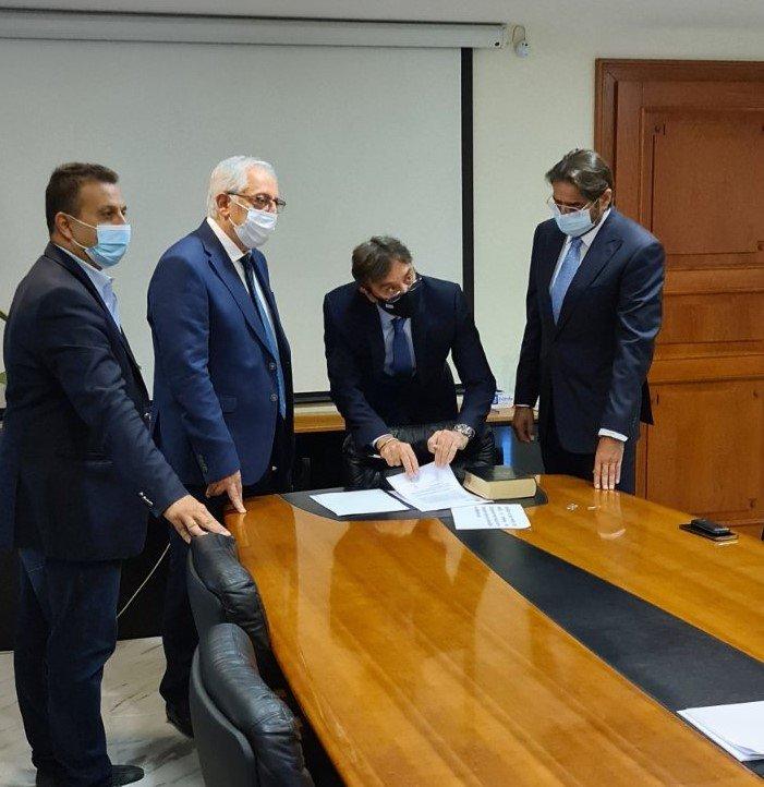 Ορκωμοσία δύο νέων Δημοτικών Συμβούλων από τον Δήμαρχο Αμαρουσίου Θεόδωρο Αμπατζόγλου_2