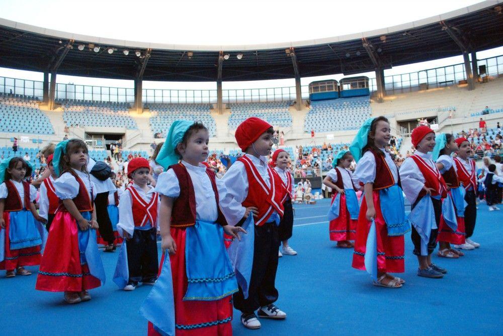 Στιγμιότυπα από τη μεγάλη γιορτή των παιδιών που φιλοξενούνται στους Δημοτικούς Παιδικούς Σταθμούς