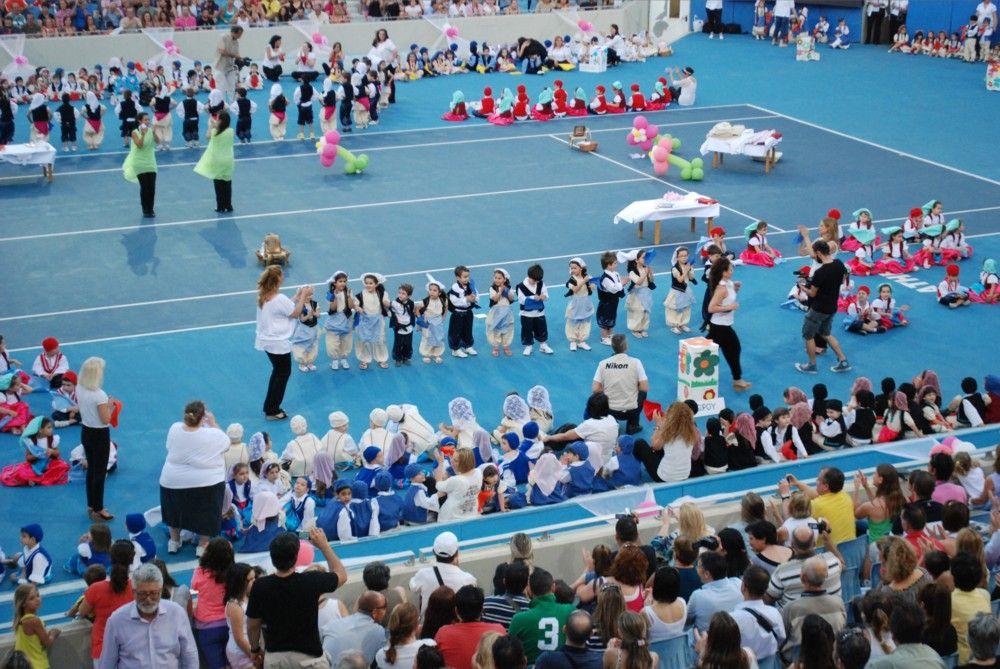 Στιγμιότυπα από τη μεγάλη γιορτή των παιδιών που φιλοξενούνται στους Δημοτικούς Παιδικούς Σταθμούς.