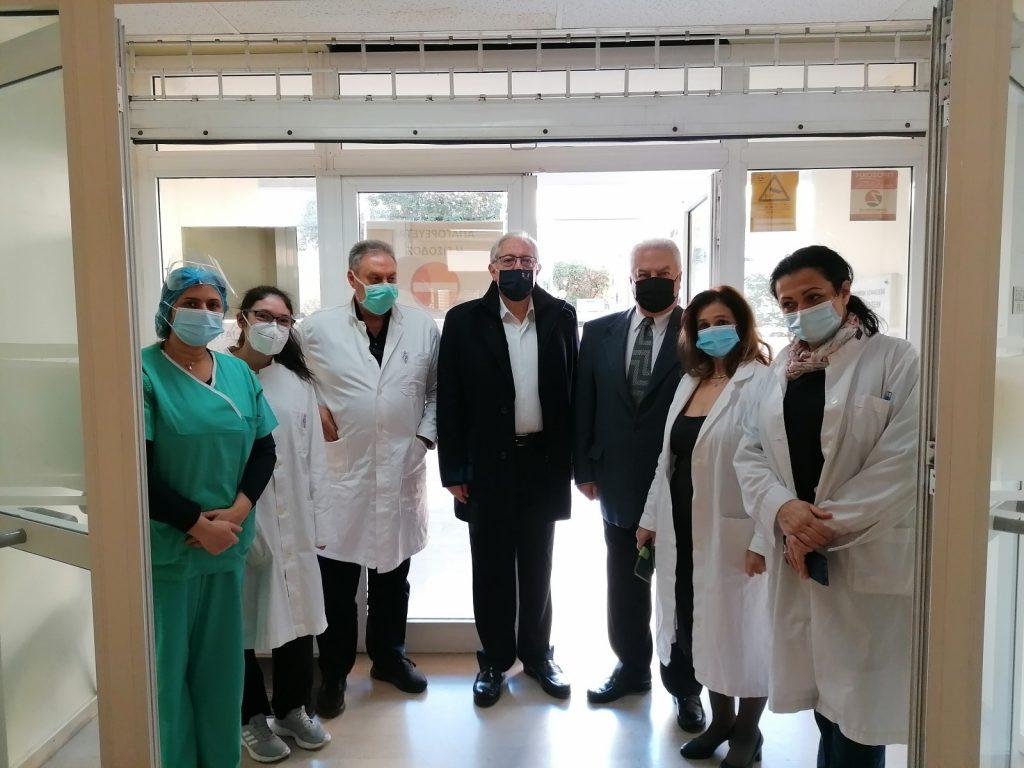 Επίσκεψη στο Κέντρο Υγείας Αμαρουσίου – Ενημέρωση για τον εμβολιασμό κατά covid-19