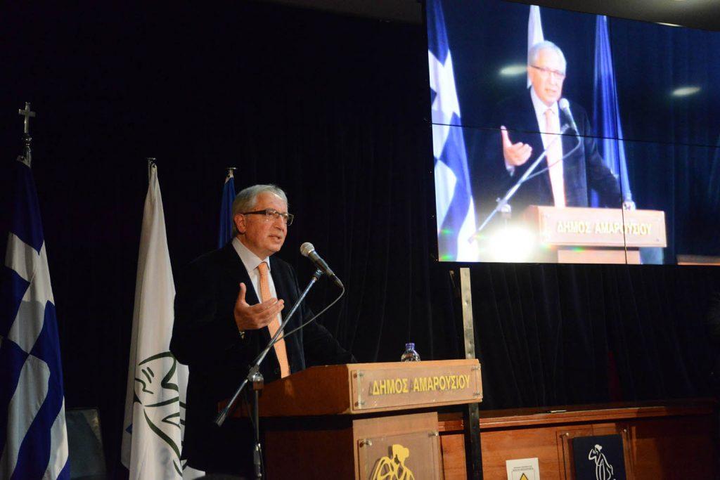Ψηφίστηκε κατά πλειοψηφία ο ισοσκελισμένος Προϋπολογισμός και το Τεχνικό Πρόγραμμα του Δήμου Αμαρουσίου για το έτος 2021